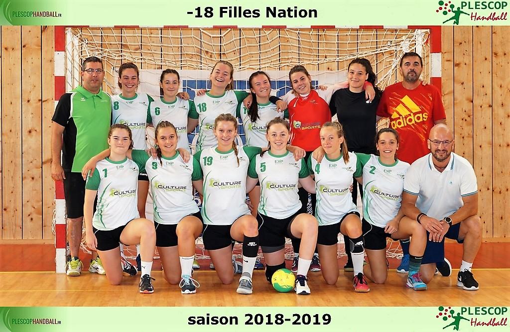 d-18 Filles Nation